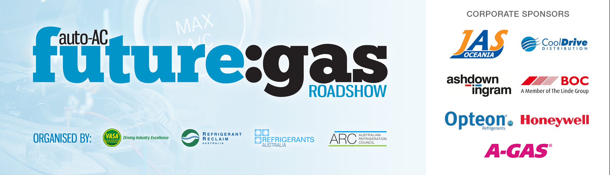 future:gas automotive air-conditioning refrigerant seminar roadshow