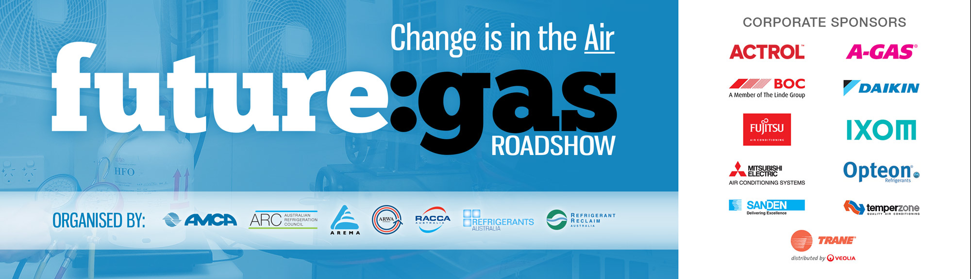 future:gas stationary refrigeration and air-conditioning refrigerant seminar roadshow